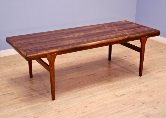 Danish coffee table in rosewood by Johannes Andersen for Uldum Møbelfabrik, 1960