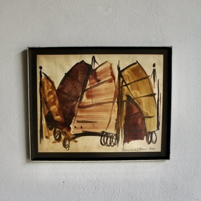Watercolour Painting, 1974
