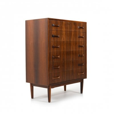 Mid Century Danish Talboy / Chest of Drawers by Clausen & Søn
