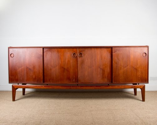 Danish Teak Sideboard by Arne Hovmand-Olsen for Mogens Kold, 1960s