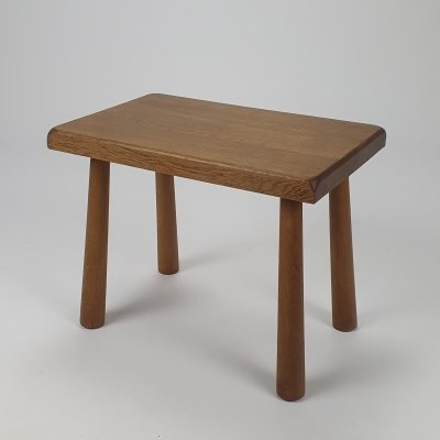 Mid century Modernist Oak sidetable/stool, 1950s