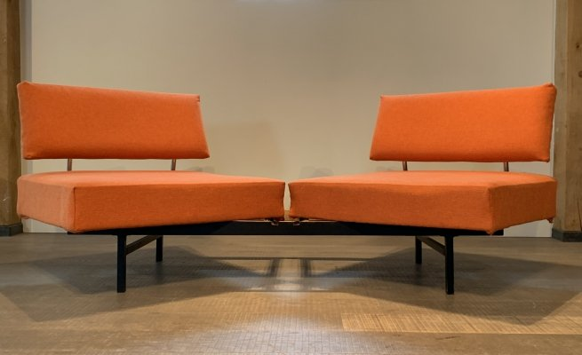 Stella Magic sofa daybed by Wilhelm Knoll for Knoll, 1950s