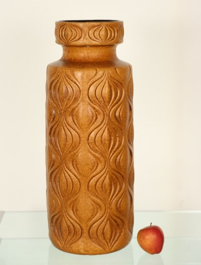 Extra Large Floor Vase by Scheurich, West Germany 1970s