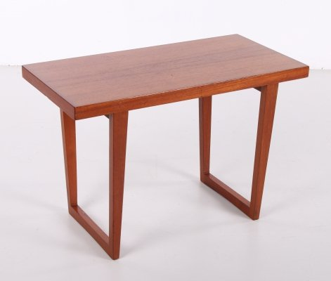 Vintage teak wooden coffee table, 1960s
