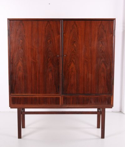Danish high model cabinet by Gunni Omann for Omann Jun, 1960s