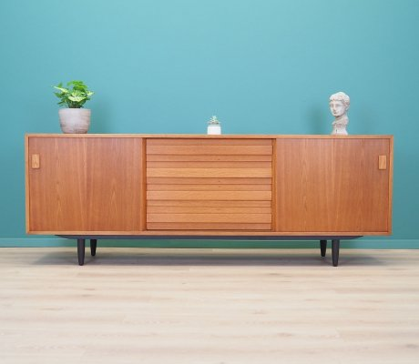 Ash sideboard by PMJ Viby J, Denmark 1970s