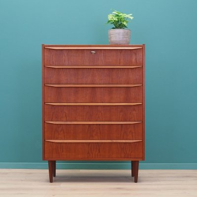 Teak chest of drawers, Denmark 60s