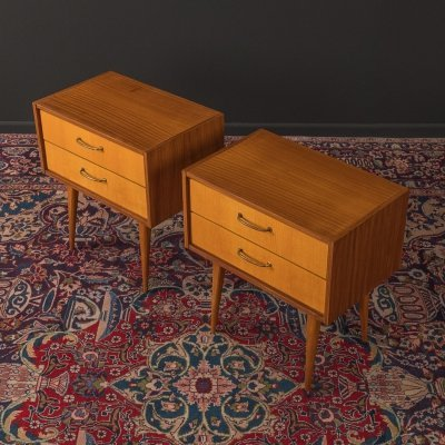 1950s bedside tables by WK Möbel