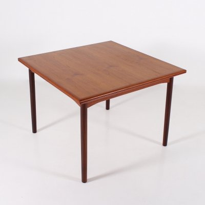 Teak Danish table with 2 extensions, 1960's