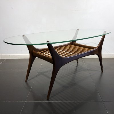 Mid-Century Coffee Table by Alfred Hendrickx for Belform, 1958