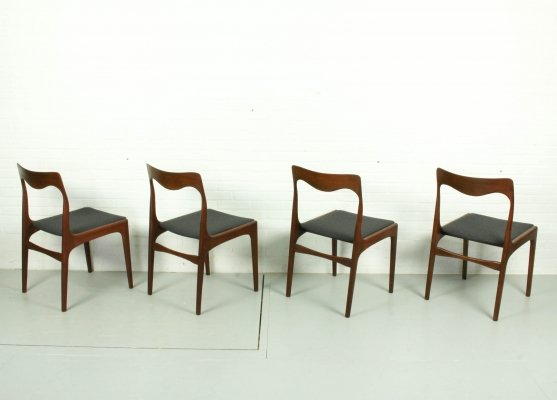 Set of 4 Dining Chairs by AWA, 1960s
