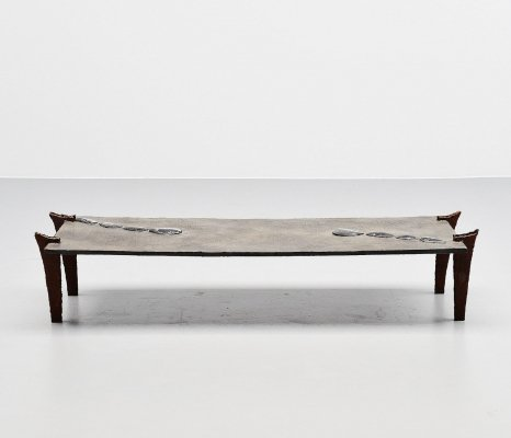 Jules Dewaele for Pia Manu coffee table, Belgium 1972