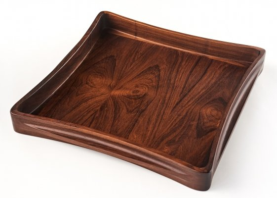 Jens Quistgaard sculptural tray for Dansk Design, 1960s