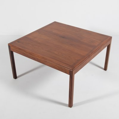 Danish Modern walnut coffee table, 1960's