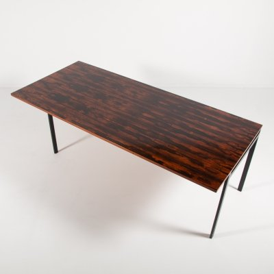 Mid-Century Architectural rosewood top table, Denmark 1960's
