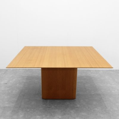 Square 'Iris' table by Van Den Berghe Pauvers, 1980s