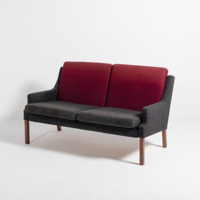 Vintage Danish two seats sofa by Rud Thygesen, 1960's