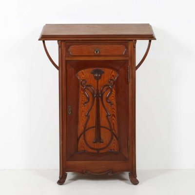 Art Nouveau writing stand / cabinet, 1920s