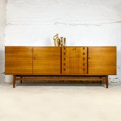 Walnut Sideboard by Bartels, 1960s