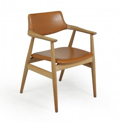 Mid Century Desk Chair in Oak by Erik Kirkegaard