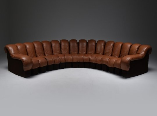 De Sede 'Snake' DS 600 Sectional Sofa, 1972