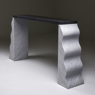 Console table 'Montenegro' by Ettore Sottsass for Ultima Edizione, 1980s