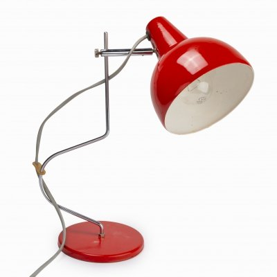 Metal table lamp L-193 by Josef Hůrka for Lidokov, 1970s