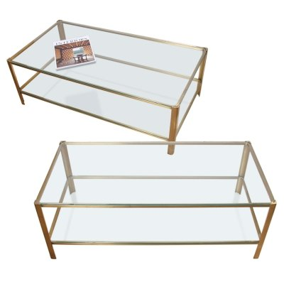 Pair of 1960s Jacques Quinet Coffee Tables
