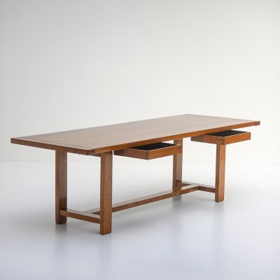 Oak dining table, 1970s