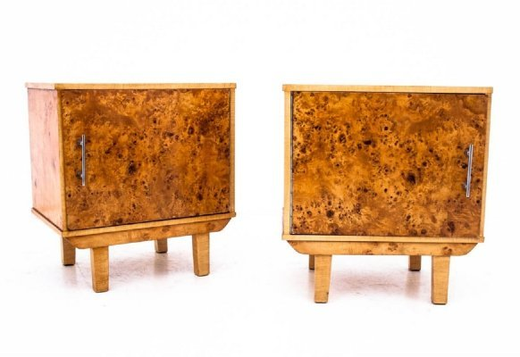 Pair of Midcentury bedside tables, 1950s