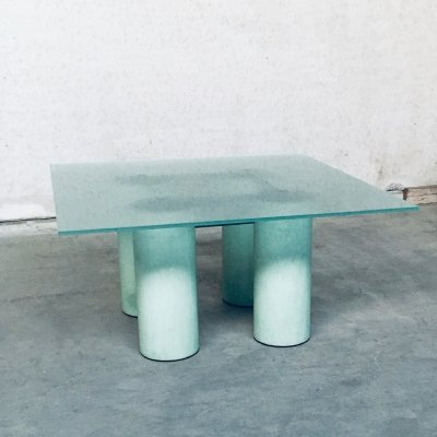 'Serenissimo' Square Dining Table by Lella & Massimo Vignelli for Acerbis