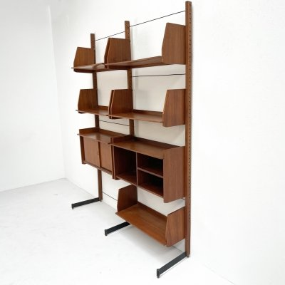 Italian freestanding wall unit, 1970s