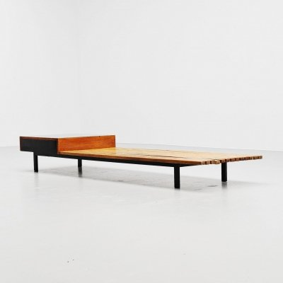 Charlotte Perriand Cansado bench by Steph Simon, France 1958