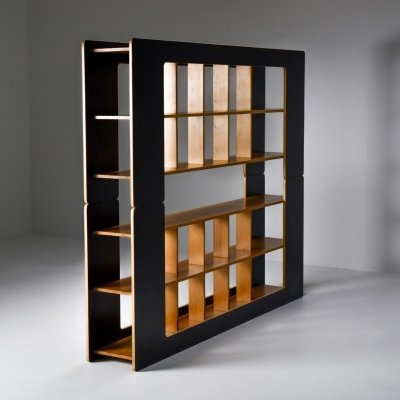 Post-modern shelve unit by Pamio & Toso, 1972