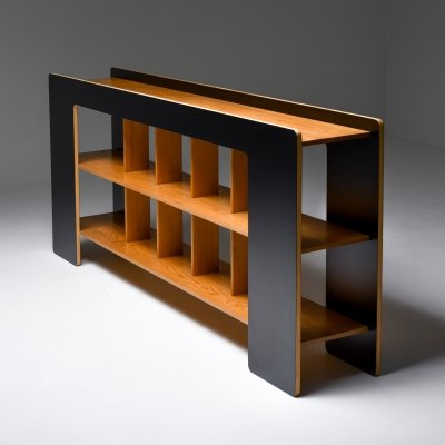 Post-Modern Sideboard with Shelves by Pamio & Toso, 1972