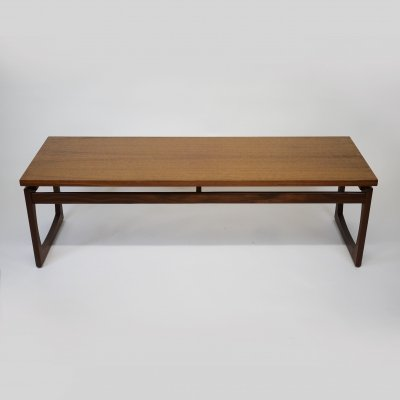 Rectangular Quadrille Long Teak Side Table by G-Plan, 1960s