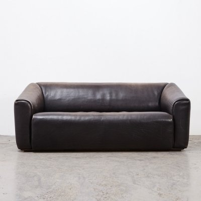 De Sede DS-47 Leather 3-Seater Sofa, 1970s