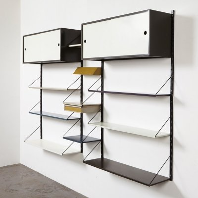 Large Wall Unit by Tjerk Reijenga for Pilastro, 1950s
