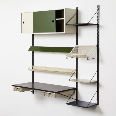 Wall unit by Tjerk Reijenga for Pilastro, 1950s