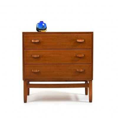 Mid Century Danish Teak Chest by Poul M. Volther for FDB, 1950s
