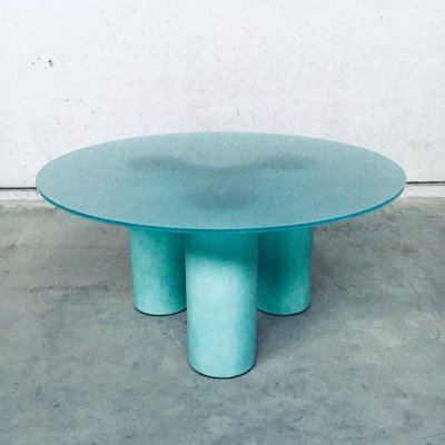 'Serenissimo' Round Dining Table by Lella & Massimo Vignelli for Acerbis, Italy