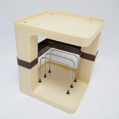 Flair Media Storage Side Table by Marc Held, 1970s