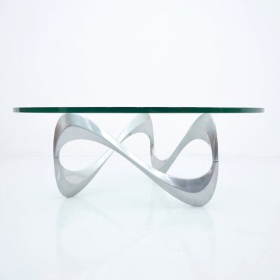 Knut Hesterberg 'Snake' Coffee Table, 1960s