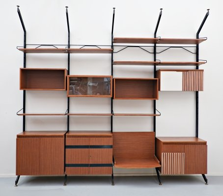 Wall unit model 'Urio' by Ico Parisi for MIM, 1960s