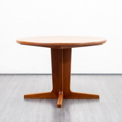 Mid-Century extendable dining table in teak, Danish design 1970s