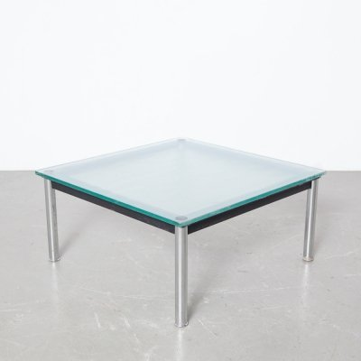 LC10-P coffee table by Le Corbusier for Cassina, 1980s