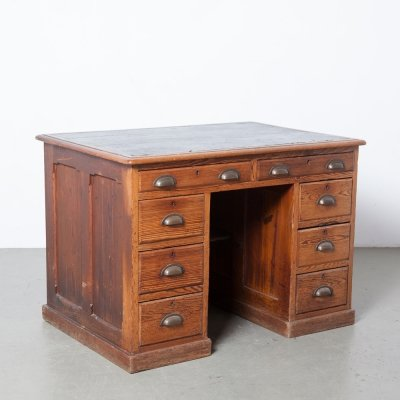 Small antique clerk's desk