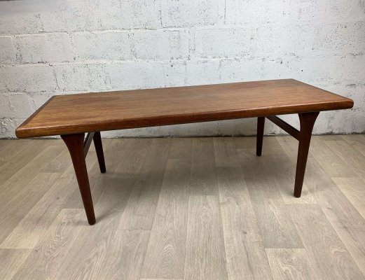 Mid-Century Scandinavian Teak Coffee Table, 1960s