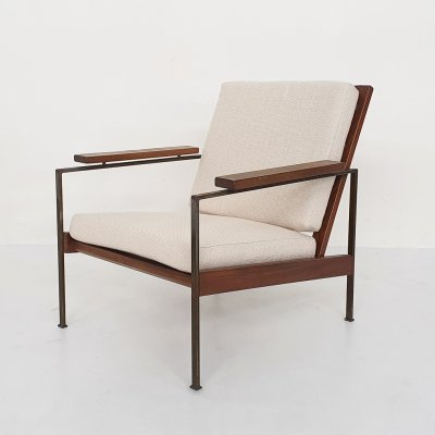 Rob Parry for Gelderland minimalistic lounge chair, The Netherlands 1960's