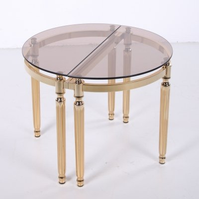 Set of Two Hollywood Regency side tables or coffee tables, 1960s